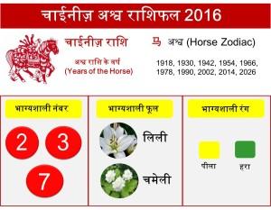 7 Horse zodiac upcharnuskhe 2016