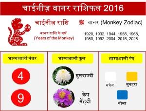 9 Monkey zodiac upcharnuskhe 2016