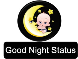 whatsapp good night status english upcharnuskhe