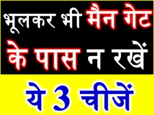 Vastu Tips For Main Door in hindi