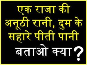 हिंदी पहेलियाँ