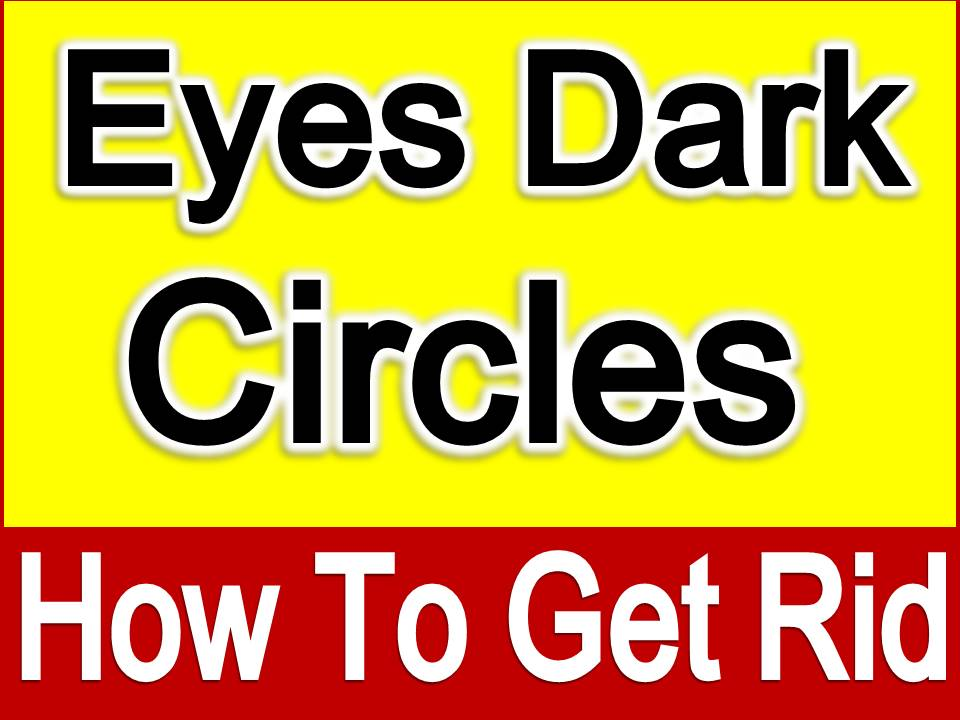 how to help dark eye circles