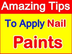 How to apply nail paint
