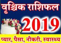 वृश्चिक राशि भविष्यफल 2019 Vrischik rashifal Scorpio Horoscope 2019