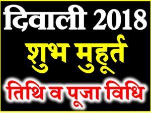 Diwali 2018 kab hai