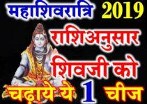 महाशिवरात्रि शिवजी को चढ़ाये ये चीजें Maha Shivaratri 2019 Puja According Zodiacs