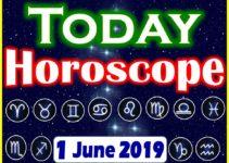 Horoscope Today – June 1, 2019