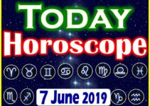 Horoscope Today – June 7, 2019