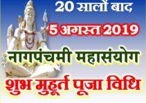 नाग पंचमी 2019 कब है Nag Panchami 2019 Date Time Shubh Muhurt