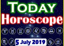 Horoscope Today – Astrology Daily Horoscope July 5, 2019