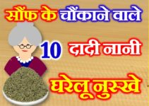 सौंफ के 10 घरेलु उपाय 10 Home Remedies of Fennel Seeds
