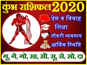 कुम्भ राशिफल 2020 | Kumbh Rashi 2020 Rashifal | Aquarius Horoscope 2020