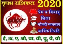 वृषभ राशिफल 2020 | Vrisabh Rashi 2020 Rashifal | Taurus Horoscope 2020