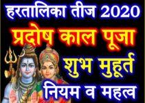 हरतालिका तीज तिथि व शुभ मुहूर्त Hartalika Teej Vrat Date Time 2020