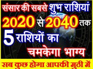 Lucky Rashi 2020 Astrology Prediciton