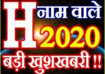 H Name Rashifal 2020 H नाम राशिफल 2020 H Name Horoscope 2020