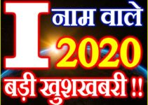 I Name Rashifal 2020 I नाम राशिफल 2020 I Name Horoscope 2020