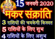 मकर संक्रांति 2020 राशियों पर प्रभाव Makar Sankranti 2020 Effect 12 zodiacs