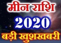 मीन राशि 2020 सबसे बड़ी खुशखबरी Meen Rashi Pisces Horoscope 2020