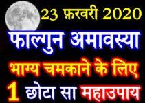 फाल्गुन अमावस्या 2020 Falgun Amavasya Date Time Puja Vidhi 2020