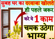 Main Door Vastu Tips | सुबह घर का दरवाजा खोलते ही करे ये 1 काम