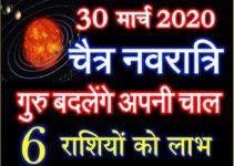 गुरु बदलेंगे अपनी चाल 6 राशियाँ होंगी मालामाल Guru Ka Rashiparivartan 2020