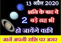 शनि के बाद दो बड़े ग्रह भी हो जायेंगे वक्री Shani Shukra Guru Vakri Effect Zodiacs