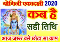 योगिनी एकादशी व्रत शुभ मुहूर्त 2020 Yogini Ekadashi Do Not These 5 Works