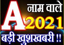 A Name Rashifal 2021   A नाम राशिफल 2021   A Name Horoscope 2021