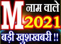M Name Rashifal 2021 | M नाम राशिफल 2021 | M Name Horoscope 2021
