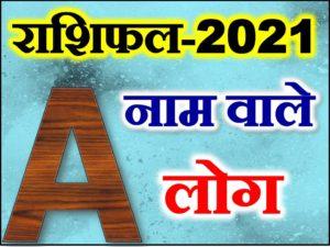 A Name Astrology Rashifal 2021