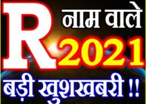 R Name Rashifal 2021 | R नाम राशिफल 2021 | R Name Horoscope 2021