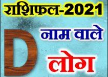 D नाम राशिफल 2021   D Name Astrology Rashifal 2021