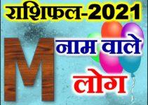 M नाम राशिफल 2021 | M Name Astrology Rashifal 2021