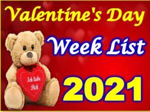 Valentine Day Week