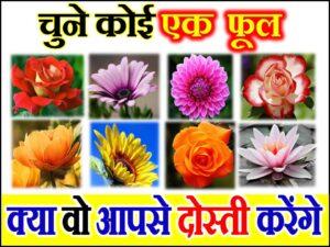 Love Quiz by Favourite Flower