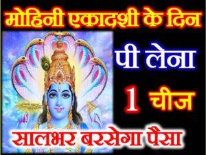Mohini Ekadashi Upay