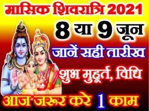 Masik Shivratri 2021