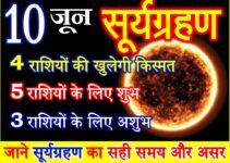 10 जून 2021 सूर्यग्रहण राशियों पर असर Surya Grahan 2021 effect 12 zodiacs