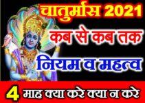 चातुर्मास 2021 | चातुर्मास के नियम Chaturmas 2021 kya kare kya na kare