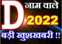 D Name Rashifal 2021   D नाम राशिफल 2021   D Name Horoscope 2021