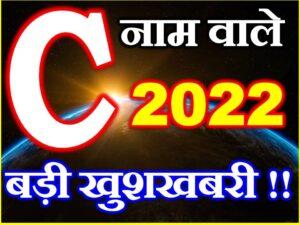 C Name Horoscope Prediction 2022